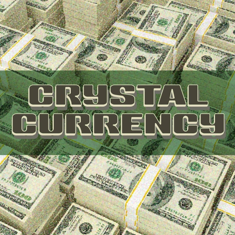 crystal currency