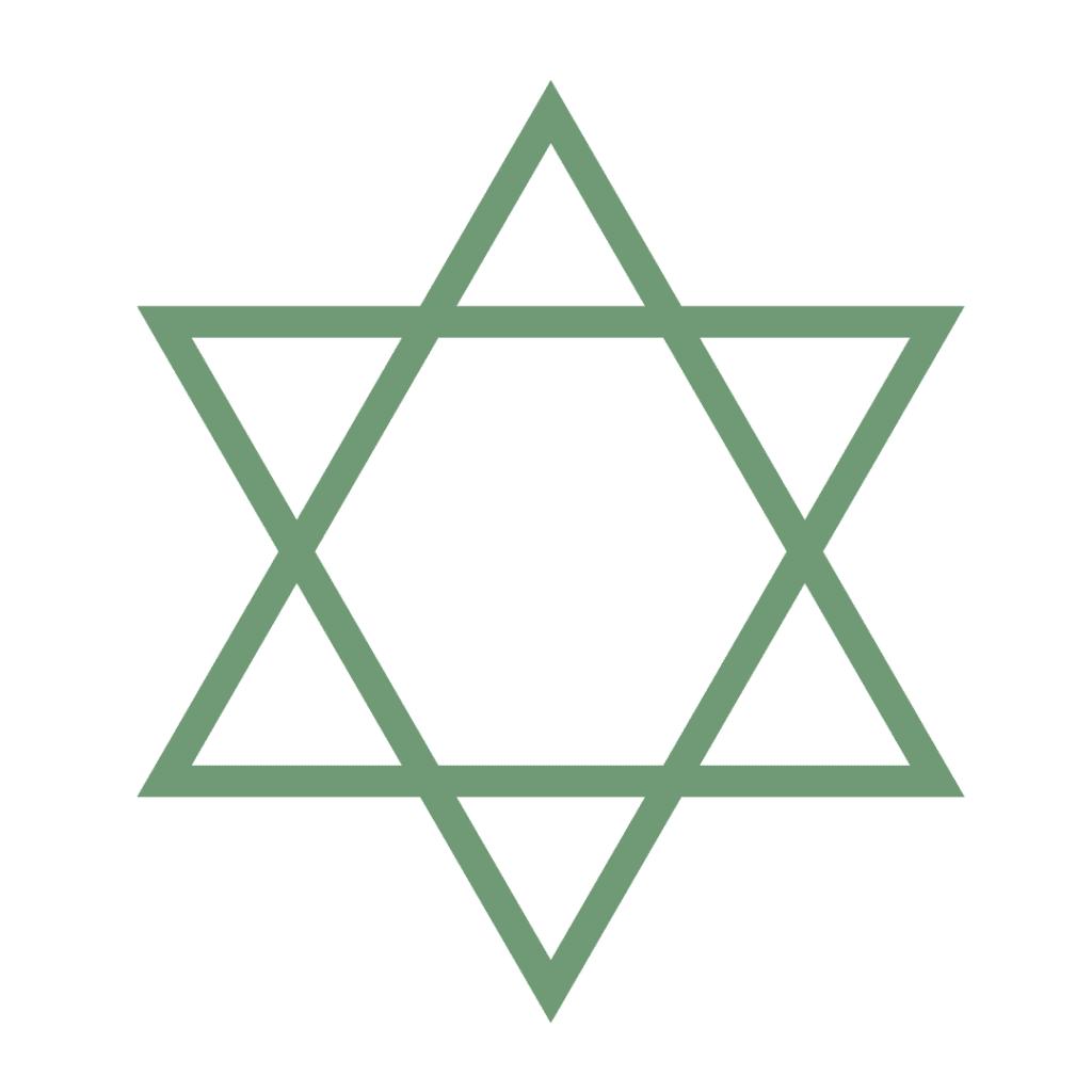 Star of David Crystal Grid