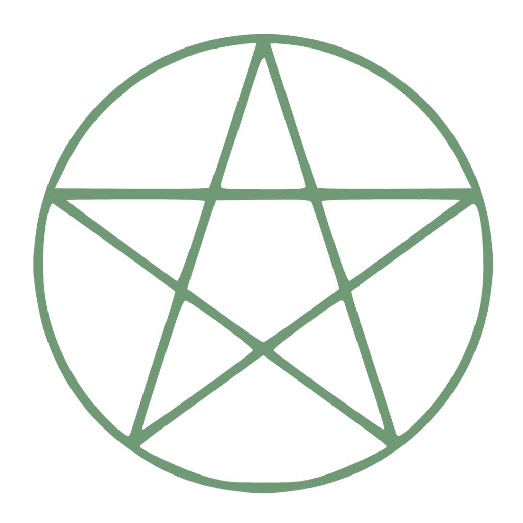 Pentagram Crystal Grid