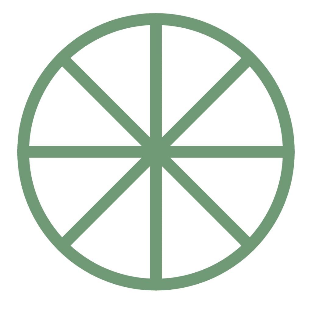 Medicine Wheel Crystal Grid
