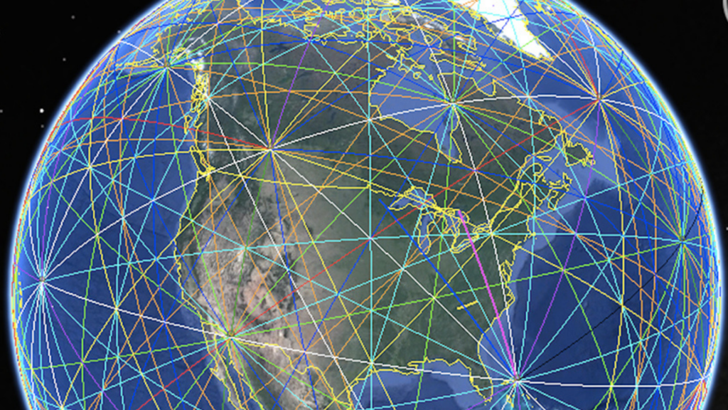earth energy map